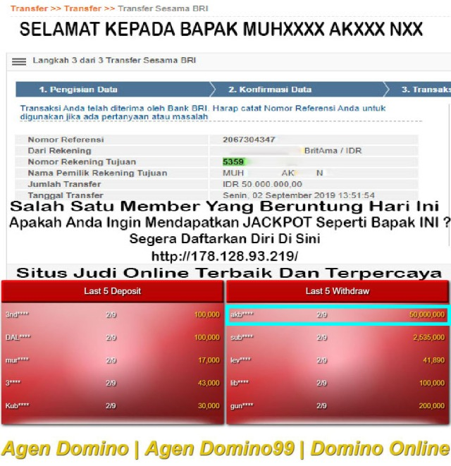 Situs Judi Kartu Domino Online
